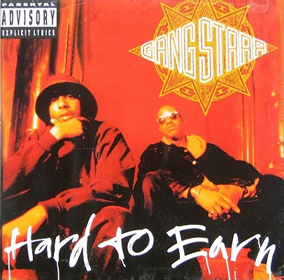 HARD TO EARN BY GANG STARR (CD)